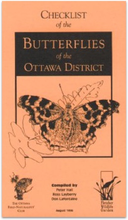 Checklist of the Butterflies of the Ottawa District