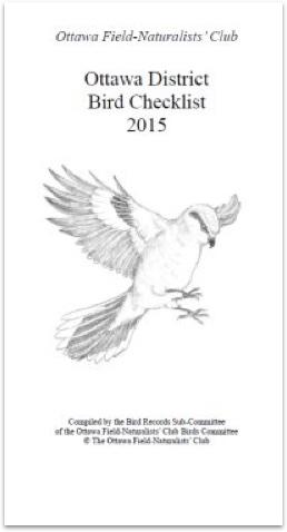 Ottawa District Bird Checklist