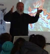 Photo of naturalist Roy John